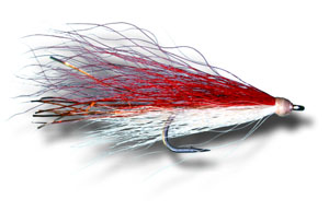 Shark-Cuda Fly - Red & White