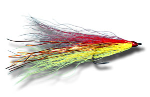 Shark-Cuda Fly - Red & Yellow