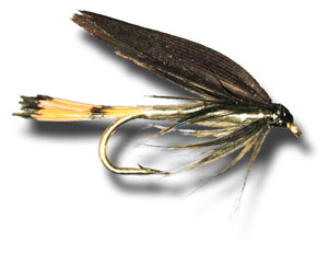 Silver And Black Wet Fly