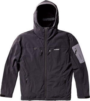 Sage Quest Insulated Soft-Shell Hoodie - Black