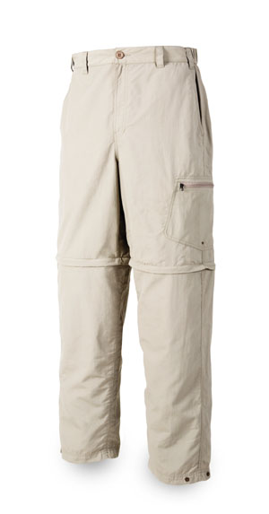 <font color=red>On Sale - Clearance</font><br>Simms Superlight Zip-Off Pant - Oyster (Discountinued)