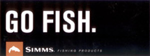 Simms Bumper Sticker - Go Fish