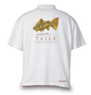 <font color=red>On Sale - Clearance</font><br>Simms Stidham Freshwater T-Shirt - Heads & Tails