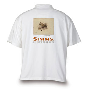 <font color=red>On Sale - Clearance</font><br>Simms Stidham Freshwater T-Shirt - Stimulator