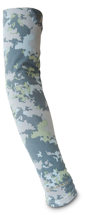 <font color=red>On Sale - Clearance</font><br>Simms SunSleeve - Saltwater Camo