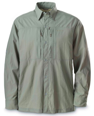 <font color=red>On Sale - Clearance</font><br>Simms Superlight Shirt - Green