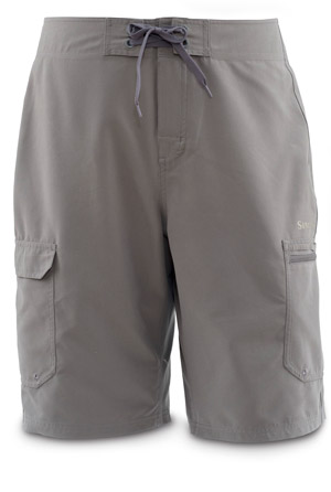 <font color=red>On Sale - Clearance</font><br>Simms Surf Short - Pewter