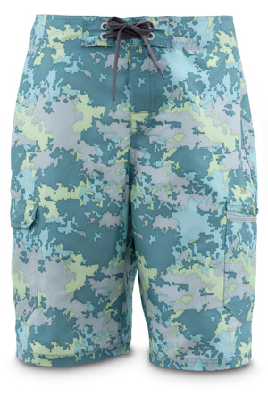 <font color=red>On Sale - Clearance</font><br>Simms Surf Short - Saltwater Camo