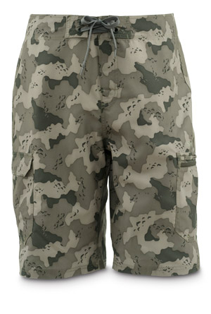<font color=red>On Sale - Clearance</font><br>Simms Surf Short - Simms Camo