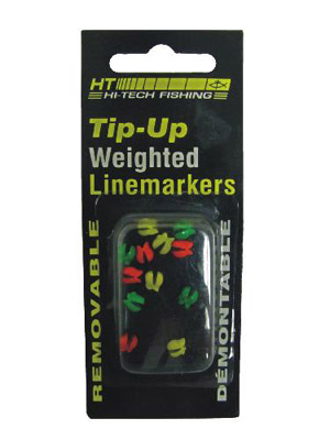 Polar Weighted Tip-up Line Markers - Non-Lead