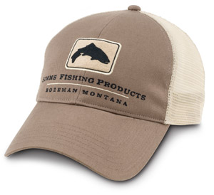 <font color=red>On Sale - Clearance</font><br>Simms Trout Trucker Cap - Driftwood