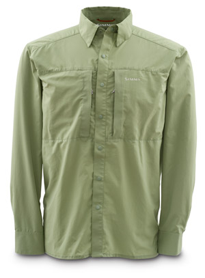 <font color=red>On Sale - Clearance</font><br>Simms Ultralight Shirt - Dill
