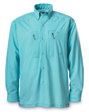 <font color=red>On Sale - Clearance</font><br>Simms Ultralight Shirt - Aqua