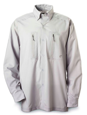 <font color=red>On Sale - Clearance</font><br>Simms Ultralight Shirt - Grey