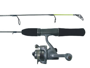 HT Woodsman Ice Rod/Reel Combo