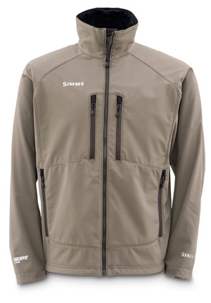 <font color=red>On Sale - Clearance</font><br>Simms Windstopper Softshell Jacket - Dark Elkhorn
