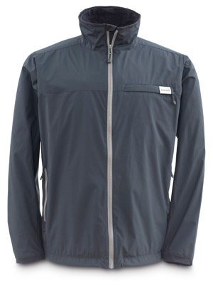 <font color=red>On Sale - Clearance</font><br>Simms Windstopper Transit Jacket - Black