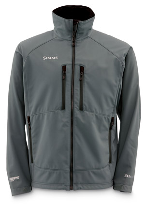 <font color=red>On Sale - Clearance</font><br>Simms Windstopper Softshell Jacket - Gunmetal
