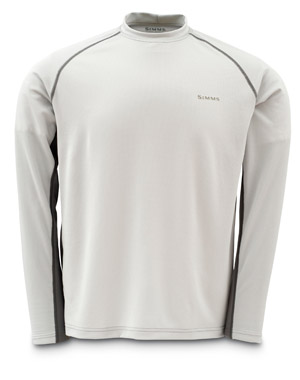 <font color=red>On Sale - Clearance</font><br>Simms Waderwick Crew Top - Grey/Pewter