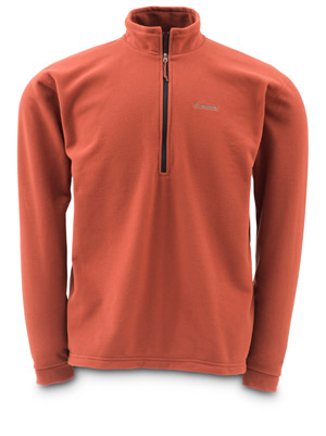 <font color=red>On Sale - Clearance</font><br>Simms Waderwick Fleece Top - Orange