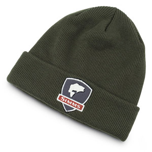 <font color=red>On Sale - Clearance</font><br>Simms Bass Watch Cap Beanie