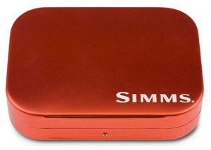 <font color=red>On Sale - Clearance</font><br>Simms Wheatley Fly Box - Orange - 4""
