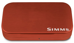 Simms Wheatley Fly Box - Orange - 6""