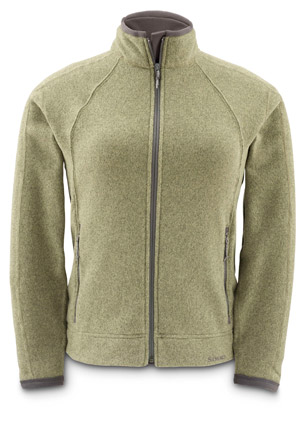 <font color=red>On Sale - Clearance</font><br>Simms Women's Rivershed Cardigan - Moss