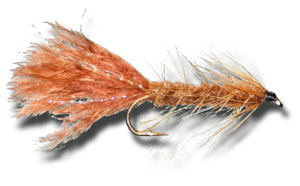 Woolly Bugger - Brown