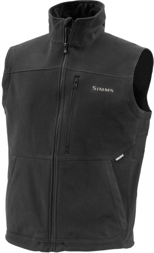 <font color=red>On Sale - Clearance</font><br>Simms ADL Vest - Black