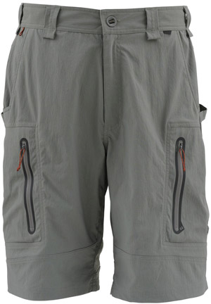 <font color=red>On Sale - Clearance</font><br>Simms Arapaima Short - Gunmetal