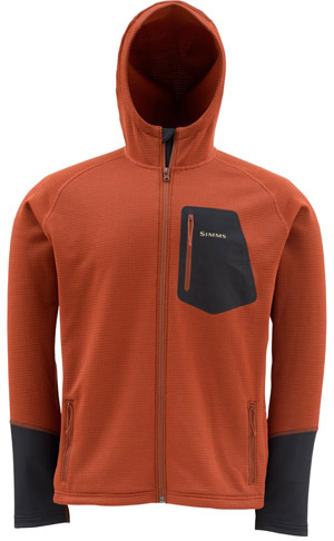 <font color=red>On Sale - Clearance</font><br>Simms AXIS Hoody - Simms Orange