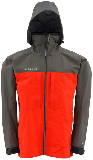 <font color=red>On Sale - Clearance</font><br>Simms Contender GORE–TEX Jacket - Bright Red