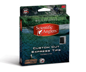 Scientific Anglers Custom Cut Express Tips - Dark Gray