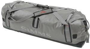 <font color=red>On Sale - Clearance</font><br>Simms Dry Creek Duffel - XL - Greystone