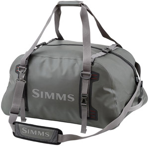 <font color=red>On Sale - Clearance</font><br>Simms Dry Creek Z Duffle - Gunmetal