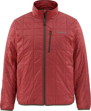 <font color=red>On Sale - Clearance</font><br>Simms Fall Run Jacket - Ruby