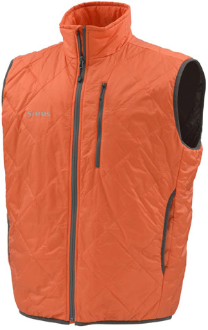 <font color=red>On Sale - Clearance</font><br>Simms Fall Run Vest - Fury Orange