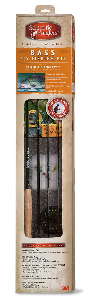 Scientific Anglers Bass Fly Fishing Kit