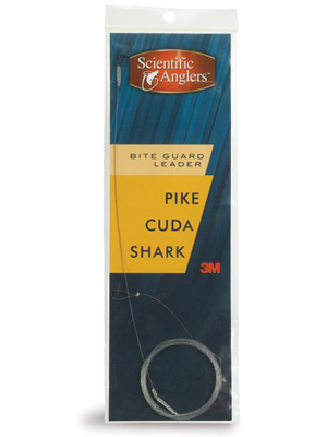 <font color=red>On Sale - Clearance</font><br>Scientific Anglers Premium Leader w/ Bite Guard - Pike/Cuda/Shark