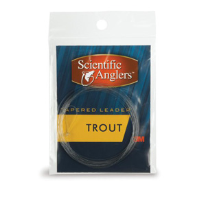<font color=red>On Sale - Clearance</font><br>Scientific Anglers Premium Freshwater Leaders - 3 Pack