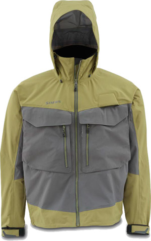 <font color=red>On Sale - Clearance</font><br>Simms G3 Guide Jacket - Army Green