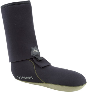 <font color=red>On Sale - Clearance</font><br>Simms Guard Socks - Black