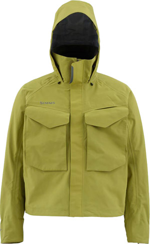 <font color=red>On Sale - Clearance</font><br>Simms Guide Jacket - Army Green