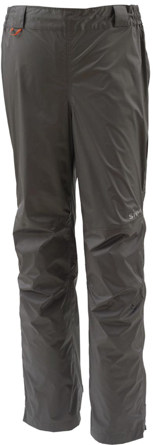 <font color=red>On Sale - Clearance</font><br>Simms Hyalite Rain Pant - Dark Gunmetal