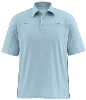 <font color=red>On Sale - Clearance</font><br>Simms Lowcountry Tech Polo - Sky Blue