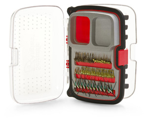 Scientific Anglers Waterproof Fly Box - Max Nymph/Dry 446 Fly Box - Medium - Red
