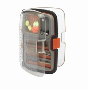 Scientific Anglers Waterproof Fly Box - Nymph 210 Fly Box - Medium - Orange