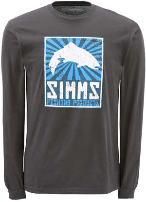 <font color=red>On Sale - Clearance</font><br>Simms Propoganda LS - Gunmetal