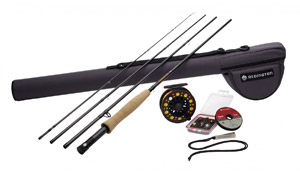 Redington Topo Fly Rod/Reel Combo - Prior Model